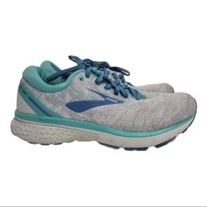 Brooks Womens Ghost 11 Running Shoes Gray 8.5